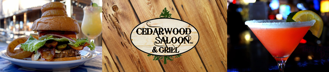 Cedarwood Saloon – Bar & Grill – Live Bands – Rock, Blues, Reggae, Pop Music